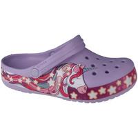 Παπούτσια Παιδί Σαμπό Crocs Fun Lab Unicorn Band Clog Violet