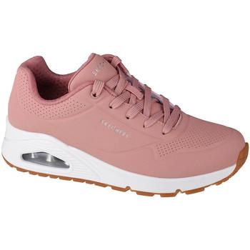 Παπούτσια Γυναίκα Χαμηλά Sneakers Skechers Uno-Stand on Air Rose