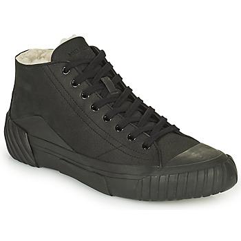Παπούτσια Άνδρας Ψηλά Sneakers Kenzo TIGER CREST SHEARLING SNEAKERS Black