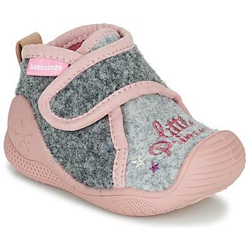 Παπούτσια Κορίτσι Παντόφλες Biomecanics BIOHOME Grey / Ροζ