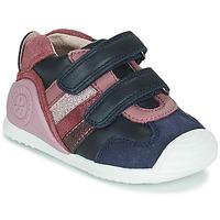 Παπούτσια Κορίτσι Χαμηλά Sneakers Biomecanics BIOGATEO SPORT Marine / Ροζ