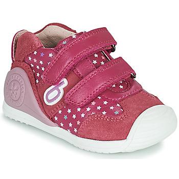 Παπούτσια Κορίτσι Χαμηλά Sneakers Biomecanics BIOGATEO SPORT Ροζ