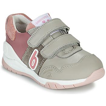Παπούτσια Κορίτσι Χαμηλά Sneakers Biomecanics BIOEVOLUTION SPORT Grey / Ροζ