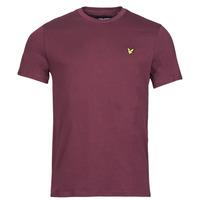 Υφασμάτινα Άνδρας T-shirt με κοντά μανίκια Lyle & Scott ROBINA Bordeaux