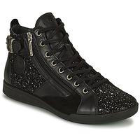 Παπούτσια Γυναίκα Ψηλά Sneakers Pataugas PALME Black / Glitter