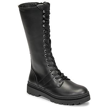 Παπούτσια Γυναίκα Μπότες για την πόλη Pataugas MARY Black