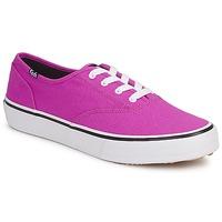 Παπούτσια Γυναίκα Χαμηλά Sneakers Keds DOUBLE DUTCH SEASONAL SOLIDS ροζ