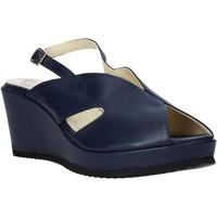 Παπούτσια Γυναίκα Σανδάλια / Πέδιλα Esther Collezioni ZB 115 Μπλε