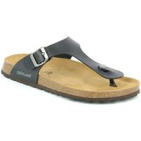 Παπούτσια Άνδρας Σαγιονάρες Grunland CB3014 Μαύρος