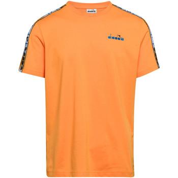 Υφασμάτινα Άνδρας T-shirt με κοντά μανίκια Diadora 502176085 Πορτοκάλι