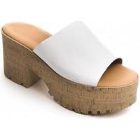 Παπούτσια Γυναίκα Τσόκαρα Purapiel 71174 WHITE