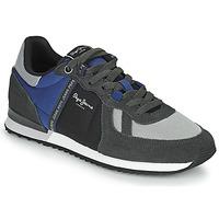 Παπούτσια Άνδρας Χαμηλά Sneakers Pepe jeans TINKER ZERO TAPE Grey / Μπλέ