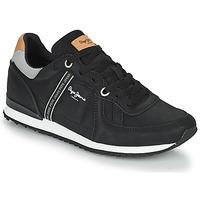 Παπούτσια Άνδρας Χαμηλά Sneakers Pepe jeans TINKER ROAD Black