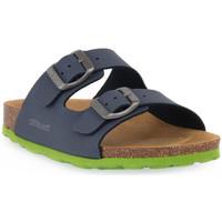 Παπούτσια Σανδάλια / Πέδιλα Grunland BLU LIME 40LUCE Blu