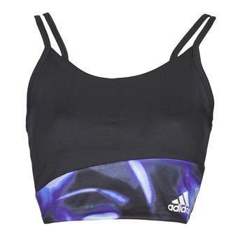 Υφασμάτινα Γυναίκα Αθλητικά μπουστάκια  adidas Performance WUFORU Black