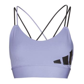 Υφασμάτινα Γυναίκα Αθλητικά μπουστάκια  adidas Performance AMEBAR Violet / Orbite