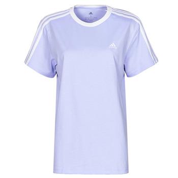 Υφασμάτινα Γυναίκα T-shirt με κοντά μανίκια adidas Performance WESBEF Ton / Violet