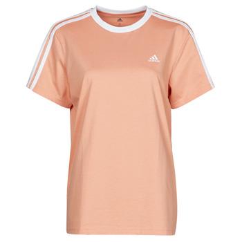 Υφασμάτινα Γυναίκα T-shirt με κοντά μανίκια adidas Performance WESBEF Blush / Ambiant