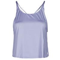 Υφασμάτινα Γυναίκα Αμάνικα / T-shirts χωρίς μανίκια adidas Performance YOGA CROP Violet / Orbite