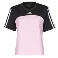 Υφασμάτινα Γυναίκα T-shirt με κοντά μανίκια adidas Performance WECBT Black