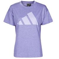Υφασμάτινα Γυναίκα T-shirt με κοντά μανίκια adidas Performance WEWINTEE Orbit / Violet / Mel