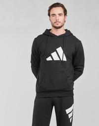 Υφασμάτινα Άνδρας Φούτερ adidas Performance M FI 3B HOODIE Black