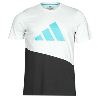 Υφασμάτινα Άνδρας T-shirt με κοντά μανίκια adidas Performance FUTURE BLK TEE Άσπρο / Cristal