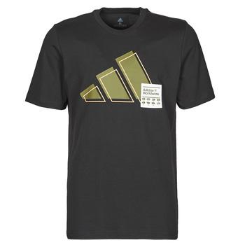 Υφασμάτινα Άνδρας T-shirt με κοντά μανίκια adidas Performance 3BAR LOGO TEE Black