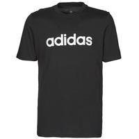 Υφασμάτινα Άνδρας T-shirt με κοντά μανίκια adidas Performance M LIN SJ T Black