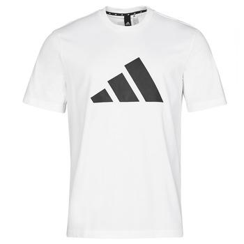 Υφασμάτινα Άνδρας T-shirt με κοντά μανίκια adidas Performance M FI 3B TEE Άσπρο