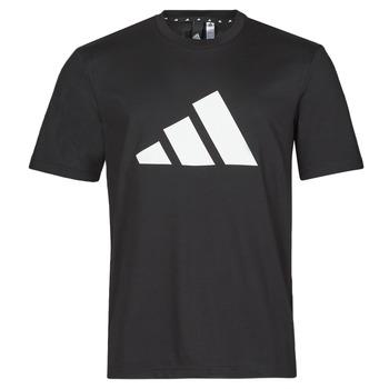 Υφασμάτινα Άνδρας T-shirt με κοντά μανίκια adidas Performance M FI 3B TEE Black