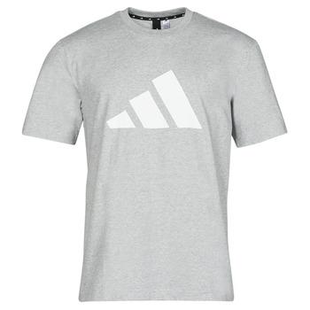 Υφασμάτινα Άνδρας T-shirt με κοντά μανίκια adidas Performance M FI 3B TEE Bruyère / Grey / Moyen