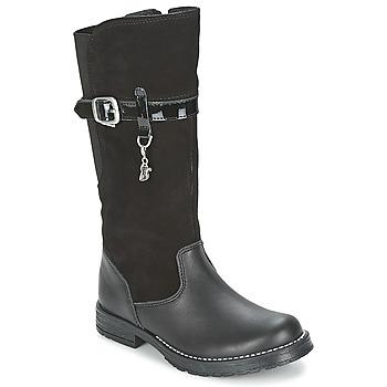 Παπούτσια Κορίτσι Μπότες για την πόλη Start Rite AQUA-FELINE Black