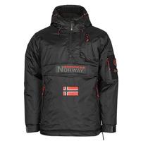 Υφασμάτινα Άνδρας Παρκά Geographical Norway BARKER Black