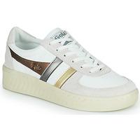 Παπούτσια Γυναίκα Χαμηλά Sneakers Gola GRANDSLAM TRIDENT METALLIC Beige / Gold