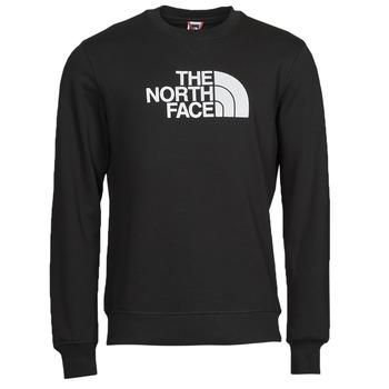 Υφασμάτινα Άνδρας Φούτερ The North Face DREW PEAK CREW Black / Άσπρο