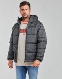 Υφασμάτινα Άνδρας Μπουφάν adidas Originals PAD HOODED PUFF Black