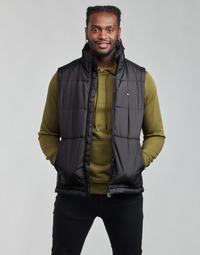 Υφασμάτινα Άνδρας Μπουφάν adidas Originals PADDED VEST Black
