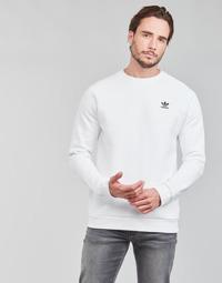 Υφασμάτινα Άνδρας Φούτερ adidas Originals ESSENTIAL CREW Άσπρο