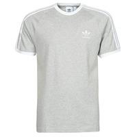 Υφασμάτινα Άνδρας T-shirt με κοντά μανίκια adidas Originals 3-STRIPES TEE Bruyère / Grey / Moyen