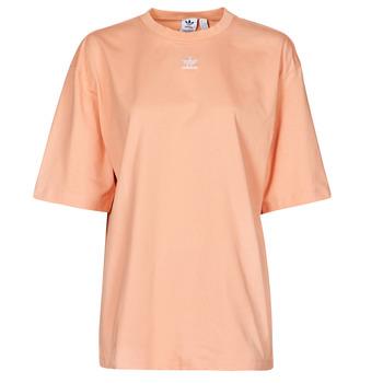 Υφασμάτινα Γυναίκα T-shirt με κοντά μανίκια adidas Originals TEE Blush / Ambiant