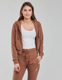 Υφασμάτινα Γυναίκα Φούτερ adidas Originals CROPPED TT Brown