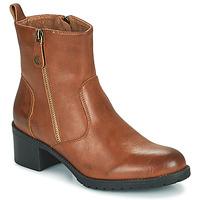 Παπούτσια Γυναίκα Μποτίνια Chattawak ALTA Camel