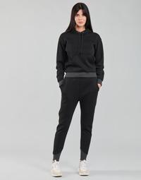 Υφασμάτινα Γυναίκα Φόρμες G-Star Raw PREMIUM CORE 3D TAPERED SW PANT WMN Black