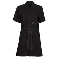 Υφασμάτινα Γυναίκα Κοντά Φορέματα G-Star Raw ARMY DRESS SHORT SLEEVE Black