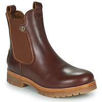 Παπούτσια Γυναίκα Μπότες Panama Jack FRANCESCA Brown