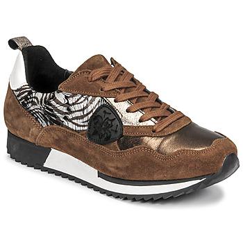 Παπούτσια Γυναίκα Χαμηλά Sneakers Philippe Morvan ROXA Brown / Black