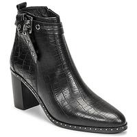 Παπούτσια Γυναίκα Μπότες για την πόλη Philippe Morvan BERRYS Black