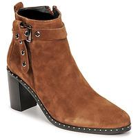 Παπούτσια Γυναίκα Μπότες για την πόλη Philippe Morvan BERRYS Brown