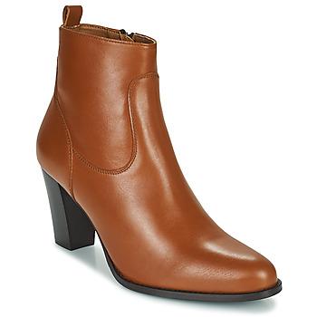 Παπούτσια Γυναίκα Μποτίνια Betty London PETRA Cognac